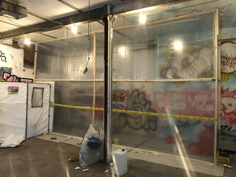 responsibilities for asbestos removal