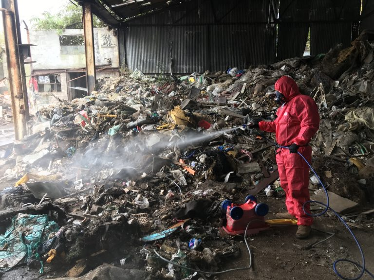 site cleaning