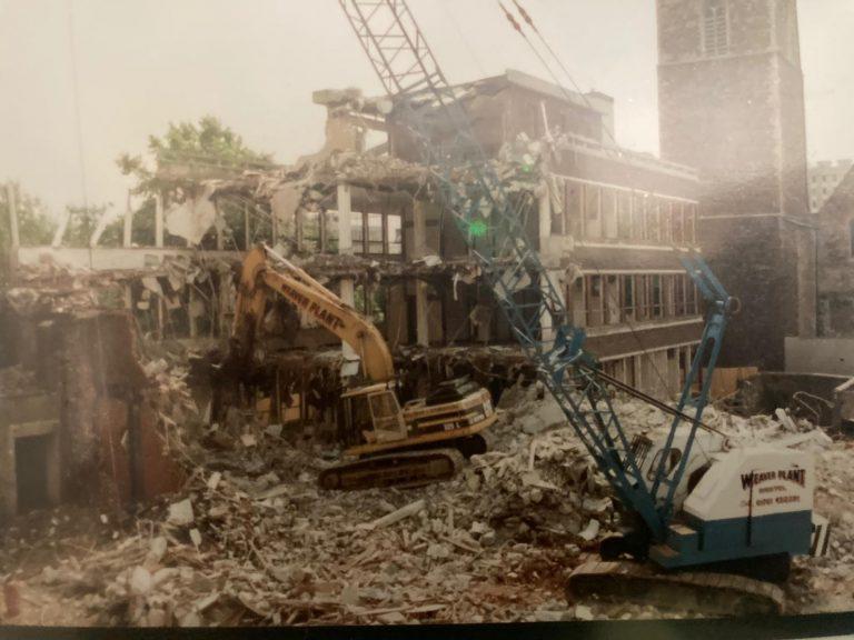 Weaver Demolition receive NFDC accreditation 1989