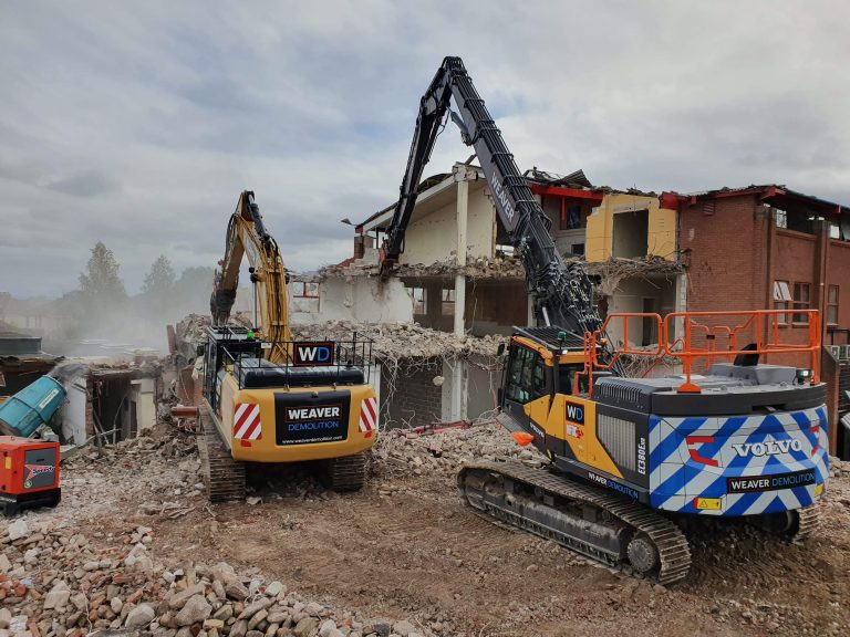 Weaver Demolition receive NFDC accreditation in 2021