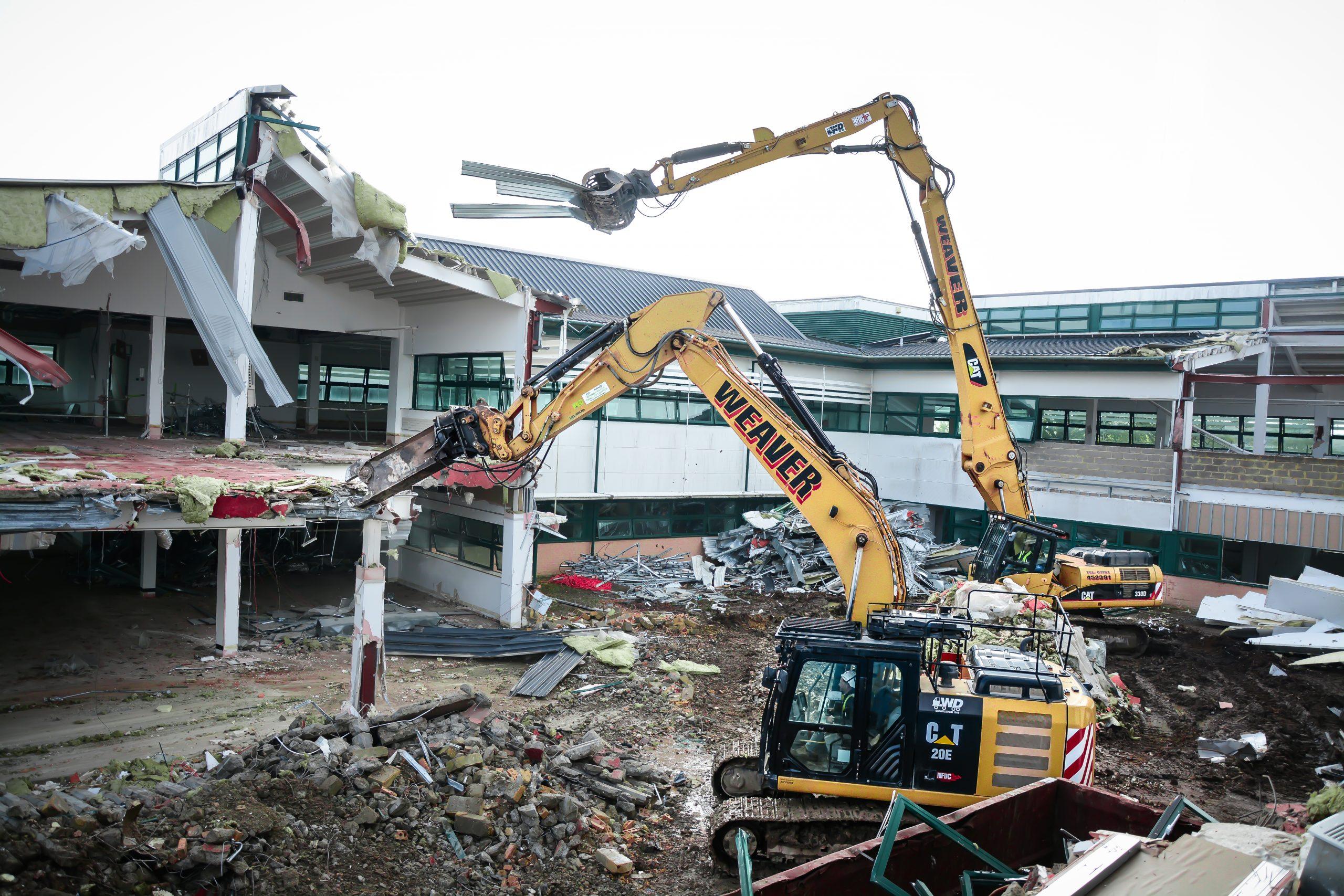 cody park weaver demolition